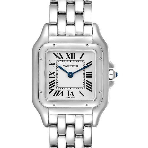 Photo of Cartier Panthere Midsize 27mm Steel Ladies Watch WSPN0007 Box Papers