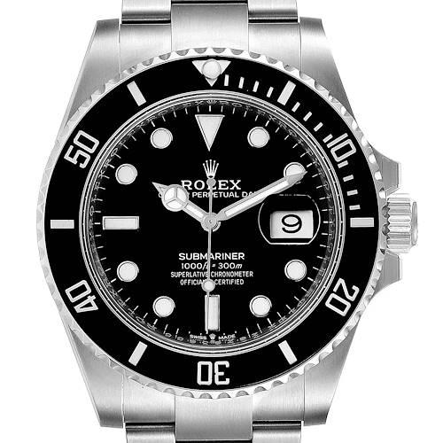Photo of Rolex Submariner 41 Cerachrom Bezel Oystersteel Mens Watch 126610 Unworn