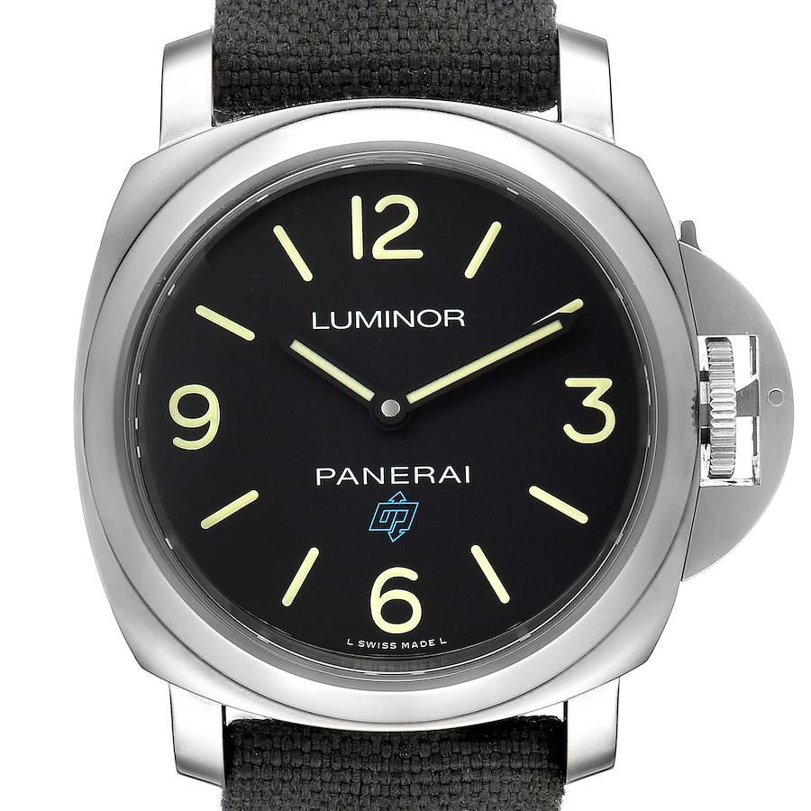 Panerai Luminor Base Logo 44mm Steel Mens Watch PAM00774 Box Papers SwissWatchExpo