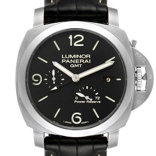 Photo of Panerai Luminor Marina 1950 3 Days GMT Watch PAM321 PAM00321 Box Papers