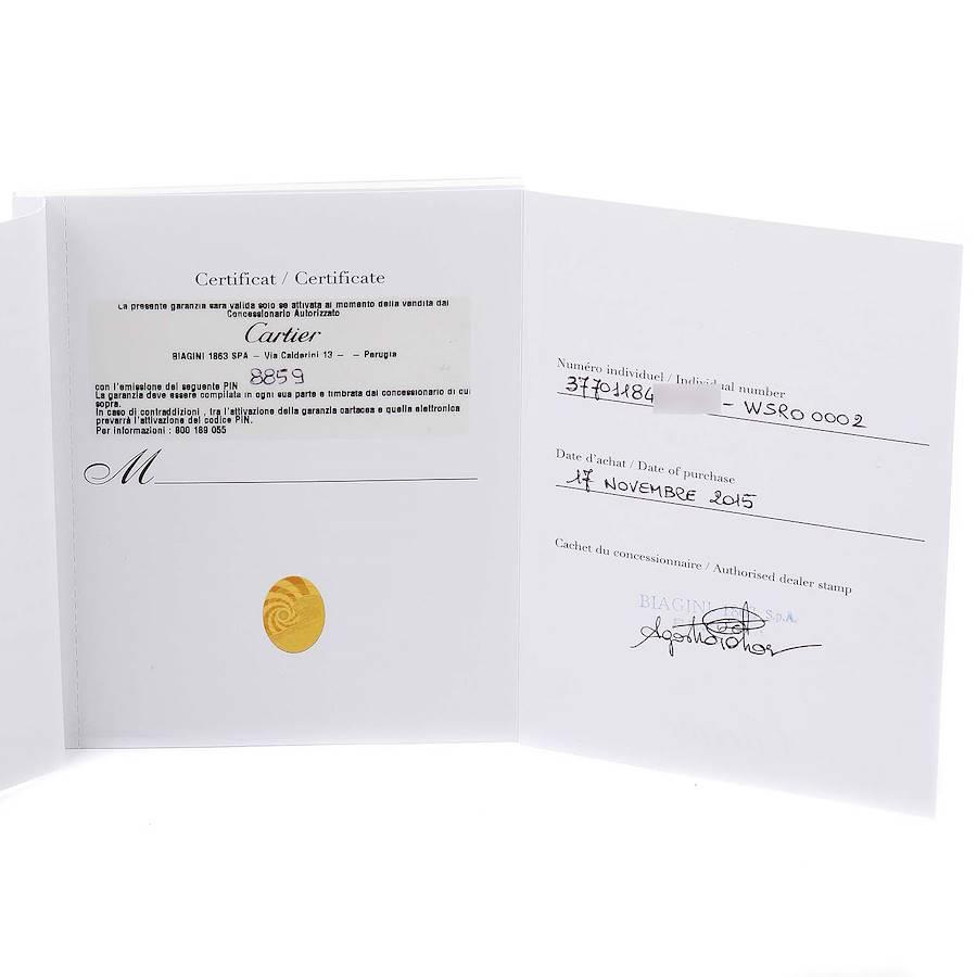Cartier Rotonde Chronograph Steel Mens Watch WSRO0002 Box Papers SwissWatchExpo