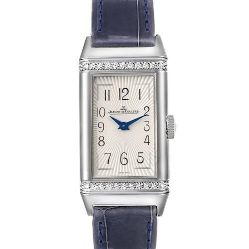 Photo of Jaeger LeCoultre Reverso Diamond Ladies Watch 201.8.47 Q3288420 Unworn