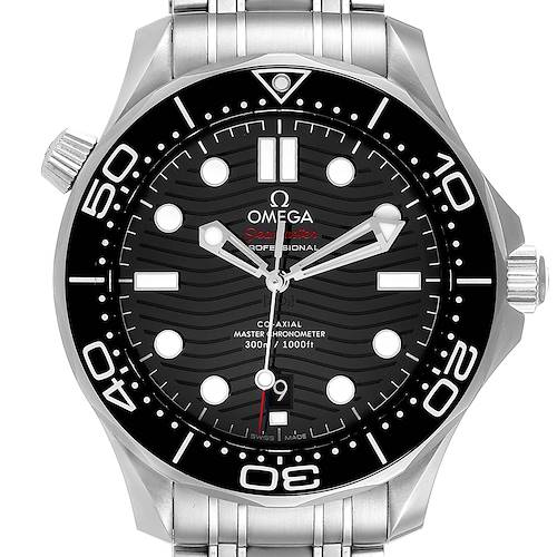 Photo of Omega Seamaster Diver Master Chronometer Mens Watch 210.30.42.20.01.001 Box Card