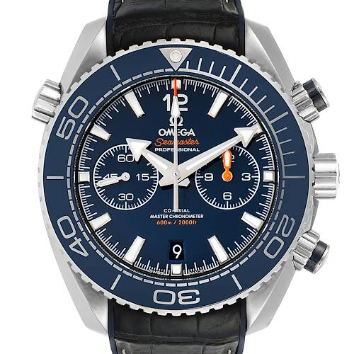 Photo of Omega Seamaster Planet Ocean 600m Co-Axial Watch 215.33.46.51.03.001 Box Card