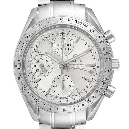 Photo of Omega Speedmaster Day Date Chrono Silver Dial Watch 3221.30.00