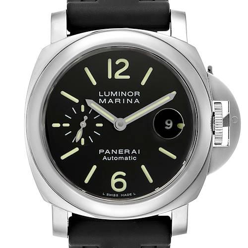 Panerai Luminor Marina Automatic 44mm Steel Mens Watch PAM104 PAM00104