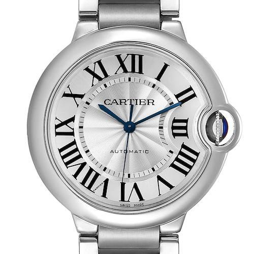 Photo of Cartier Ballon Bleu Midsize 36 Steel Ladies Watch W6920046 Box