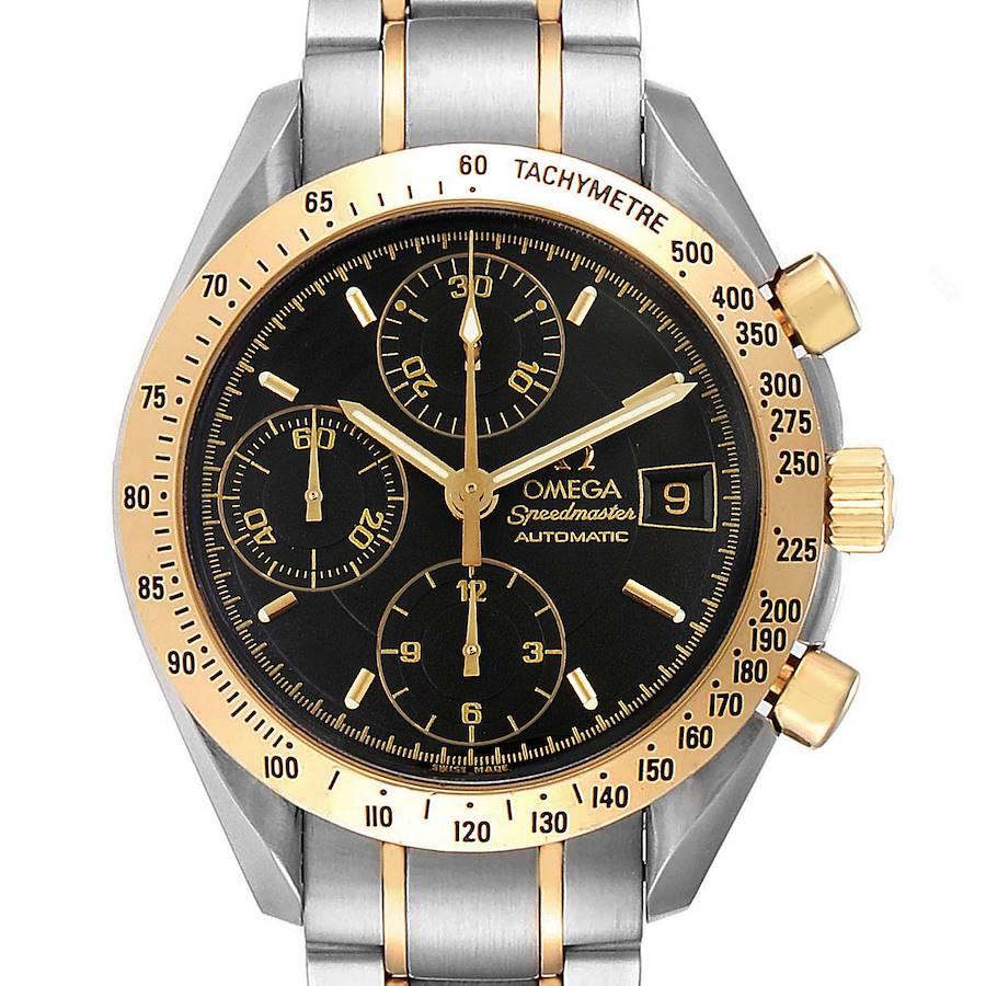 Omega Speedmaster Steel Yellow Gold Automatic Watch 3313.50.00 SwissWatchExpo