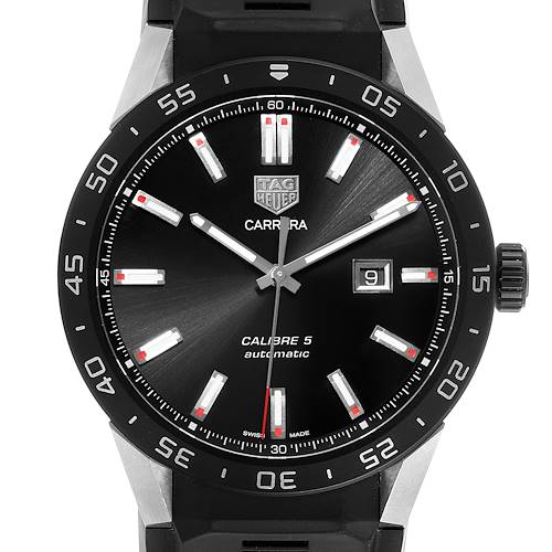 Photo of Tag Heuer Connected Black Dial Titanium Mens Watch SAR2A80 Box Card
