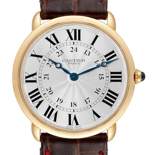 Photo of Cartier Ronde Louis 33mm Privee Collection Yellow Gold Unisex Watch 0900
