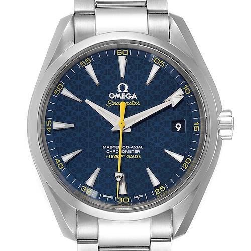 Photo of Omega Seamaster Aqua Terra Spectre Bond Limited Watch 231.10.42.21.03.004