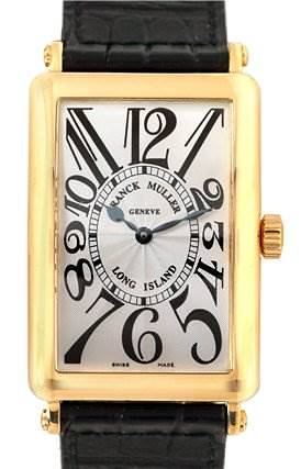 Photo of Franck Muller Men 18k y Gold Long Island 1000sc #352