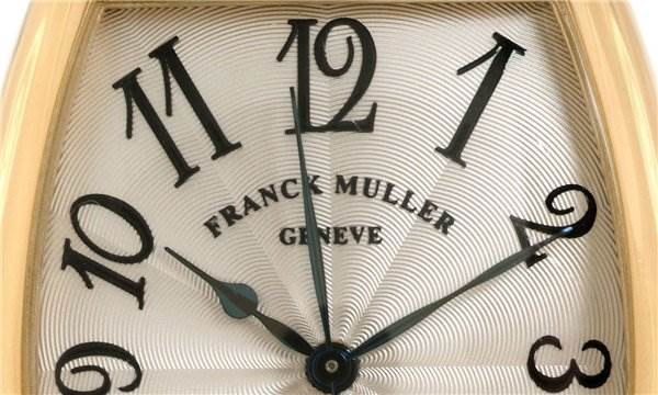 Franck Muller Men 18k Yellow Gold Cintree Curvex 2852 Sc SwissWatchExpo