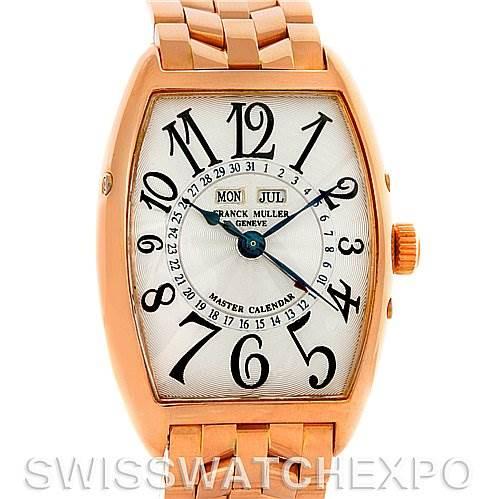 Franck Muller 18K Rose Gold Master Calendar 2852MC SwissWatchExpo