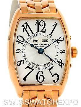 Photo of Franck Muller 18K Rose Gold Master Calendar 2852MC