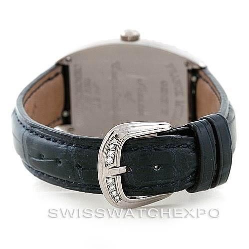 Franck Muller Chronometro 7502 S6 D 18K White Gold Diamond Watch SwissWatchExpo