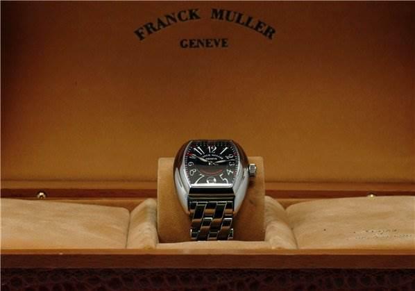 1437WFM Franck Muller Men 18k Yellow Gold Cintree Curvex 2852 Sc SwissWatchExpo