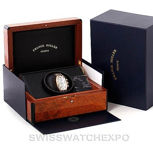 Franck Muller Casablanca Chronograph 18K Rose Gold Watch 5850 CC AT SwissWatchExpo