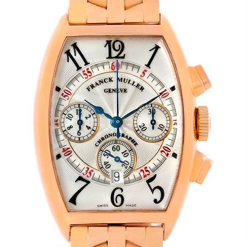 Photo of Franck Muller Casablanca Chronograph 18K Rose Gold Watch 5850 CC AT