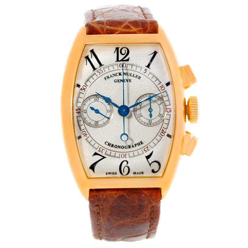 Franck Muller Complications Chronograph 18K Yellow Gold Watch 5850 CC SwissWatchExpo