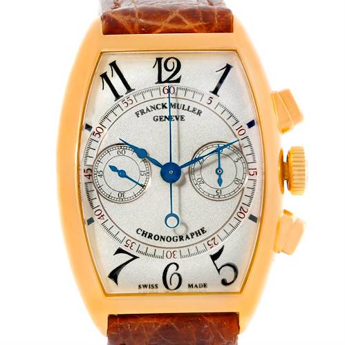 Photo of Franck Muller Complications Chronograph 18K Yellow Gold Watch 5850 CC