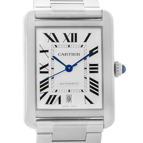 Photo of Cartier Tank Solo Extra Large Automatic Mens Watch W5200028