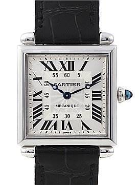 Photo of Cartier Tank Obus 18k White Gold Watch 2380