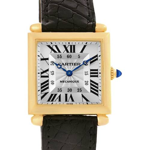 Photo of Cartier Tank Obus Yellow Gold  Privee Paris CPCP Manual Watch W1527551