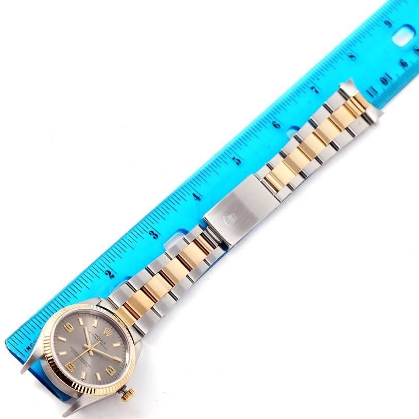 Rolex Non Date Mens Steel 18k Yellow Gold Watch 14233 SwissWatchExpo