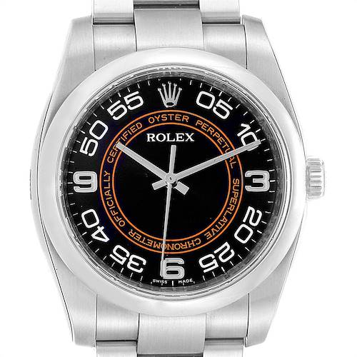 Photo of Rolex Oyster Perpetual 36 Harley Dial Mens Watch 116000 Unworn