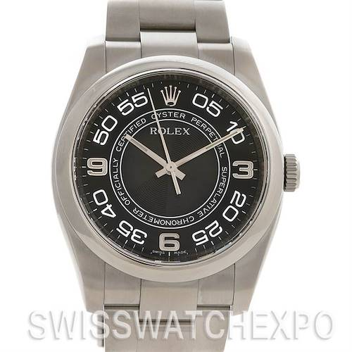 Photo of Rolex Non Date Mens Ss Watch 116000 Year 2009 Sharp