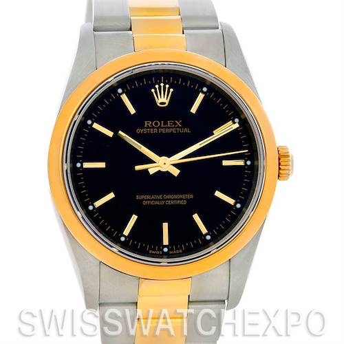 Photo of Rolex Non-Date Men's Steel 18k Yellow Gold Watch 14203