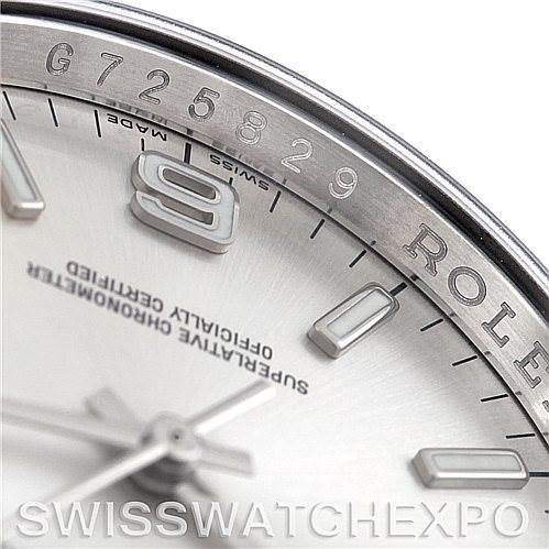 5720 Rolex No Date Men's Steel Watch 116000 SwissWatchExpo