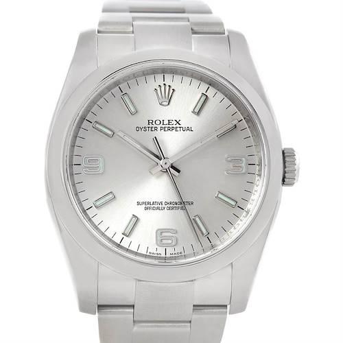 Photo of Rolex No Date Men's Steel Watch 116000