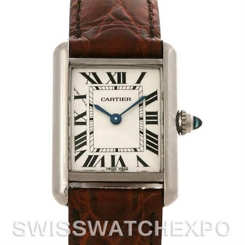 Photo of Cartier Tank Louis Ladies 18k White Gold Watch W1541056