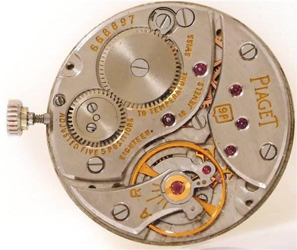 Piaget Vintage Ladies 18k White Gold Diamond Watch SwissWatchExpo