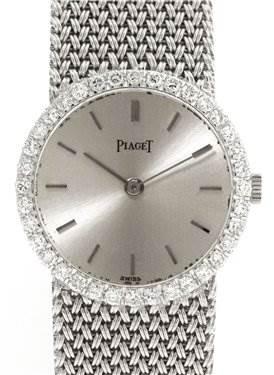 Photo of Piaget Vintage Ladies 18k White Gold Diamond Watch