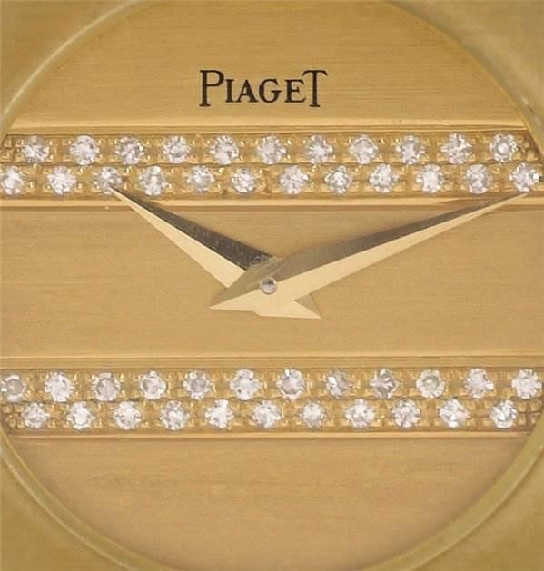 Piaget Ladies 18k Gold Diamonds Polo 861c701 SwissWatchExpo