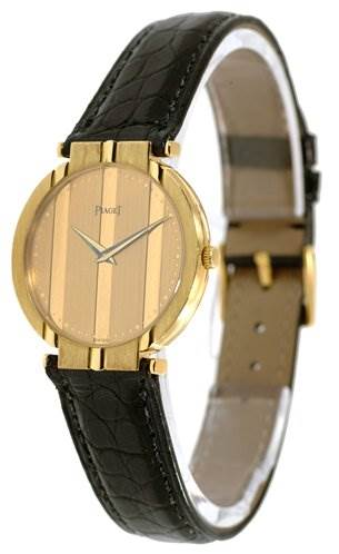 1334WPL Piaget Mens 18k Yellow Gold Polo 8673 Unworn Watch SwissWatchExpo