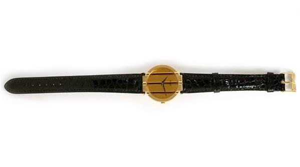Piaget Mens 18k Yellow Gold Polo 8673 Unworn Watch SwissWatchExpo