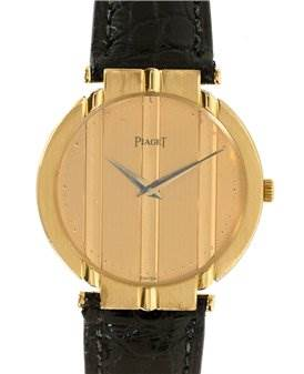 Photo of Piaget Mens 18k Yellow Gold Polo 8673 Unworn Watch