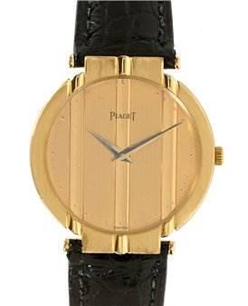 Photo of Piaget Mens 18k Yellow Gold Polo 8673 Unworn Watch