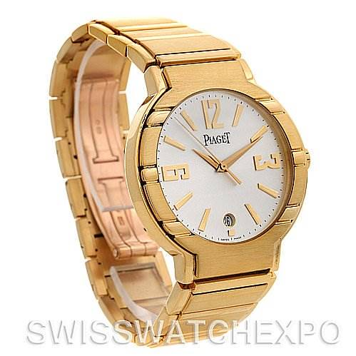 Piaget Polo  New Style Mens 18K Yellow Gold GOA26021 Watch SwissWatchExpo