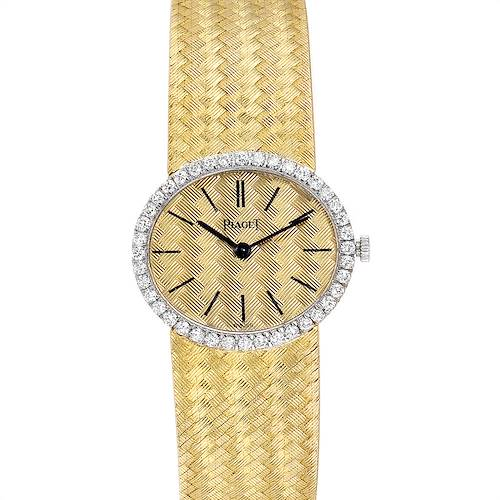 Photo of Piaget 18k Yellow Gold Diamond Ladies Watch 9806