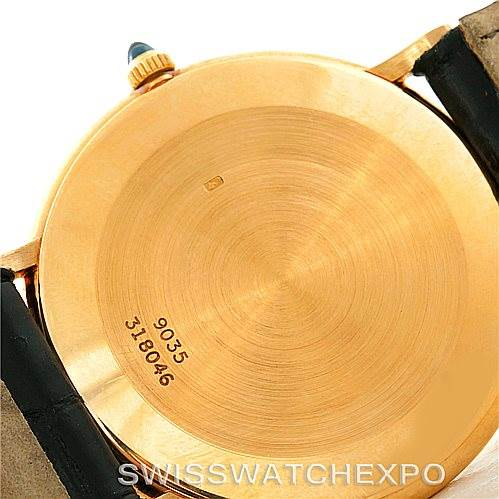 7705 Piaget 18K Yellow Gold Mechanical Mens Watch 9035 SwissWatchExpo