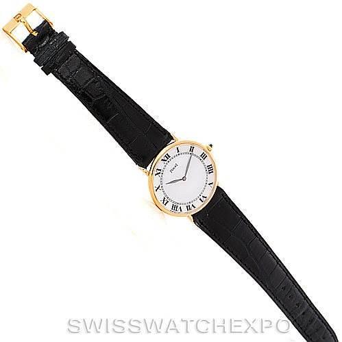 Piaget 18K Yellow Gold Mechanical Mens Watch 9035 SwissWatchExpo