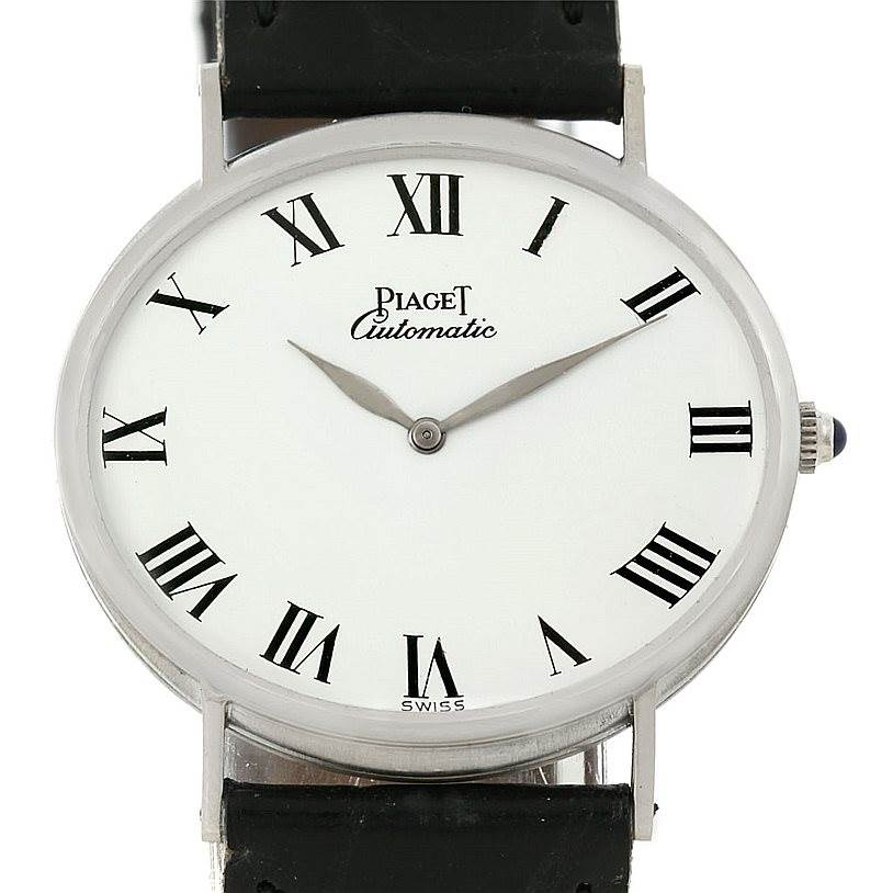 Photo of Piaget 18K White Gold Automatic Mens Watch 12501
