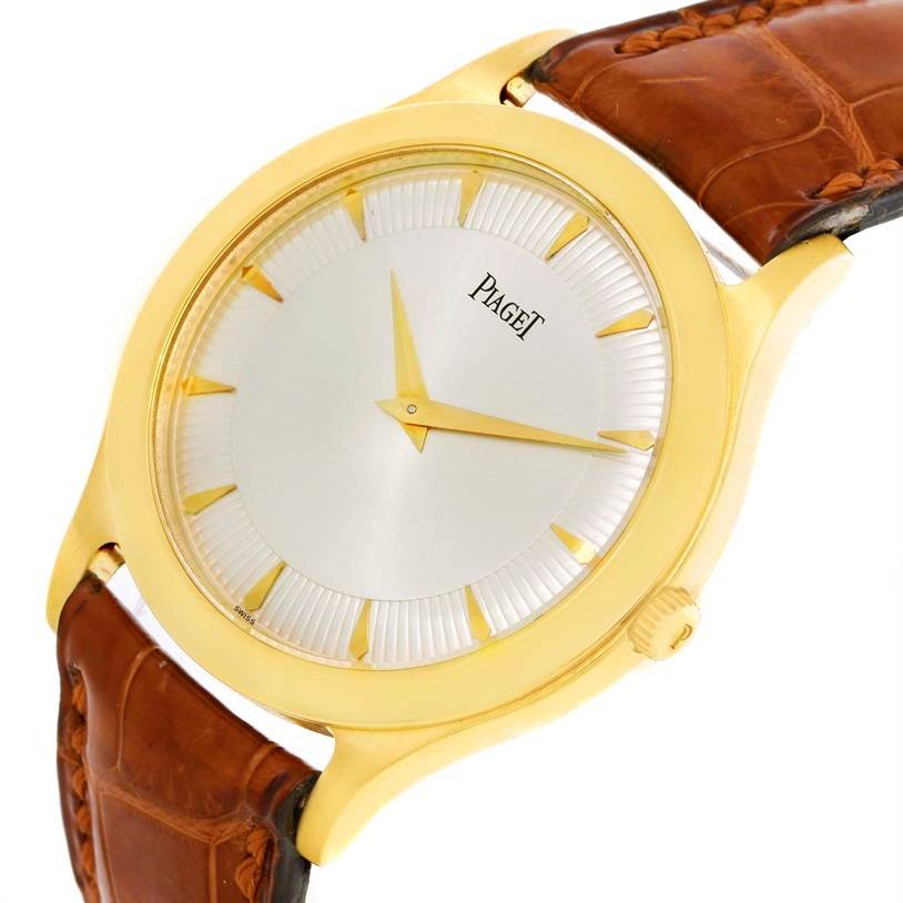 Piaget 18K Yellow Gold Mechanical Limited Edition Mens Watch 91000 SwissWatchExpo