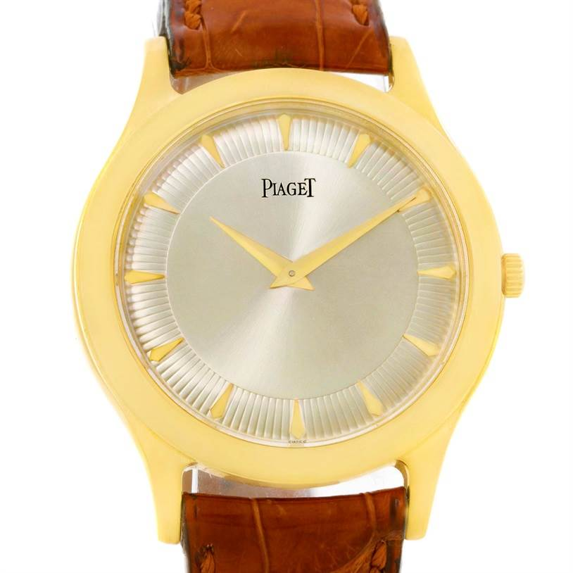 Photo of Piaget 18K Yellow Gold Mechanical Limited Edition Mens Watch 91000