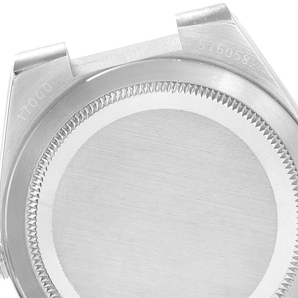 22809 Rolex Oysterquartz Datejust White Buckley Dial Vintage Mens Watch 17000 SwissWatchExpo